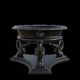 Tripod, Cauldron, 3d, Render, Ancient, Old, Antique