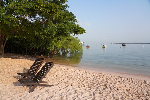 Beach, Sea, Summer, Thailand, Sightseeing, Travel, Sky