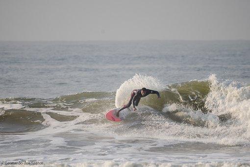 Surf, Brazil, Brasil, Nature, Water, City, Surfing