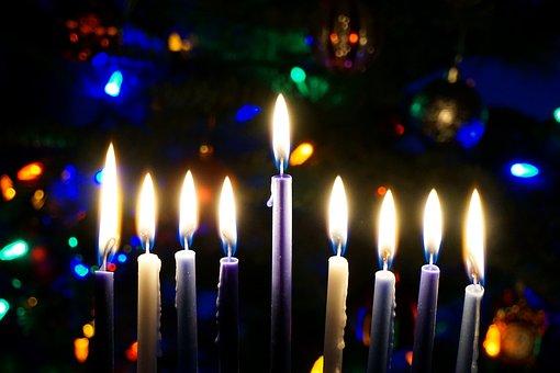 Christmas, Christmas Tree, Winter Holidays, Hanukkah