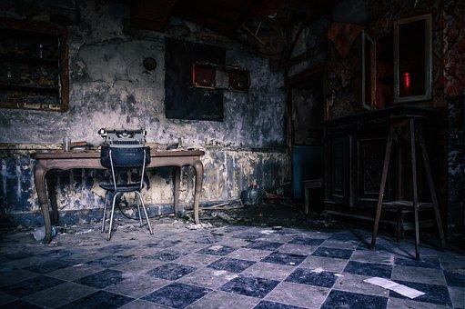 Room, Dark, Space, Old, Interior, Vintage, Gloomy