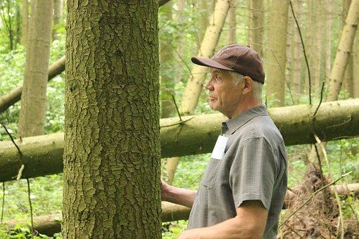 Waldsterben, Farmer In The Woods, Climate Change