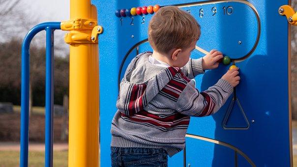 Toddler, Playground, Child, Children, Play, Fun