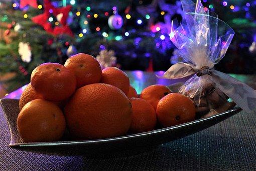 December, Holidays, The Smell Of, Fruit, Mandarins
