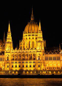 Budapest, The Parliament, Hungary, Architecture