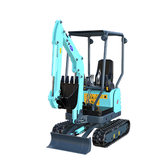 Digger, Construction, Machinery, Machine, Industrial