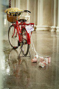 Just Married, Vintage, Couple, Love, Romantic
