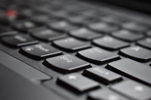 Lenovo, Thinkpad, Laptop, Keyboard, Ctrl, Tasten