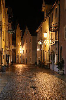 Street, Streets, Lane, Architecture, Urban, City, Night