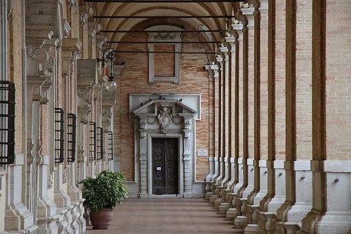 Arcade, Architecture, Loreto, Italy, The Sanctuary