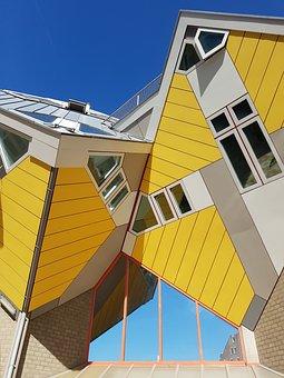 Rotterdam, Cube, Cube House, Architecture, Modern, Live