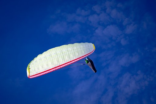 Paragliding, Sport, Flying, Paraglider, Freedom, Sky