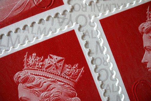 Stamp, Queen, Philately, England