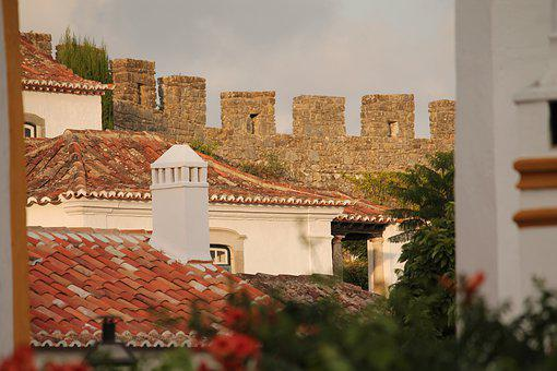 Obidos, Portugal, óbidos, Historically, City, Castle