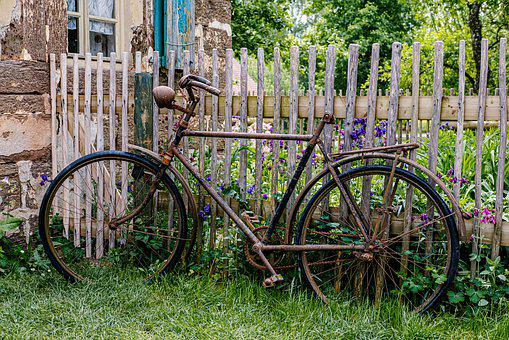 Bike, Old, Means Of Transport, Nostalgia, Retro, Rust