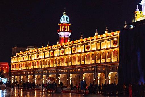 Amritsar, Punjab, India, Sikh, Temple Sikhism, Golden