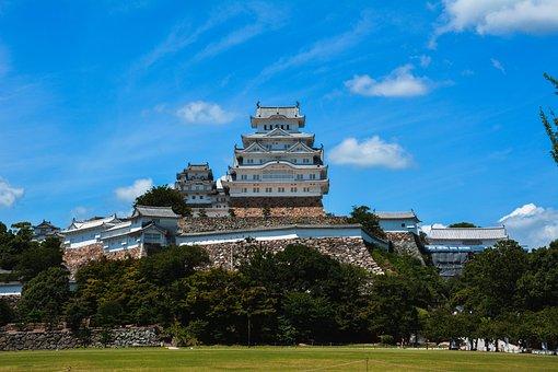Himeji, Castle, White, Japan, Heritage, Tourism