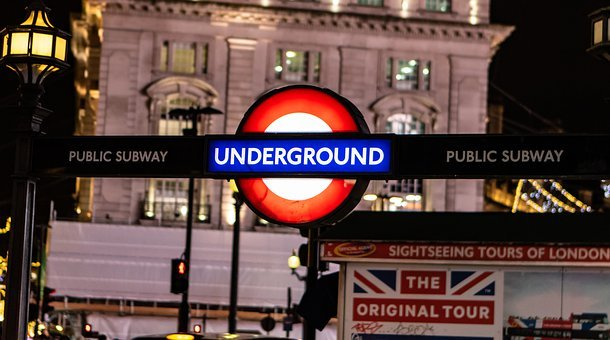 Oxford Circus Station, Underground, London Subway, Tube
