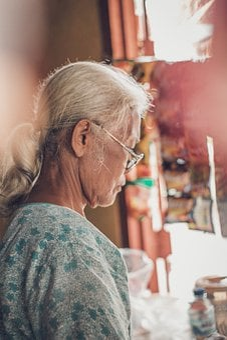 Old Woman, Woman, Grandma, Elderly, Grandmother, Face