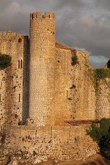 Obidos, Portugal, óbidos, Historically, City, Castle