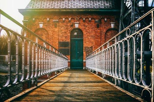 Bridge, Away, Transition, Web, Railing, Historically