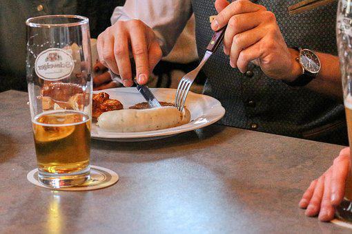 White Sausage, Beer, Local, Cozy