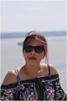 Portrait, Asian Girl, Person, Woman, Pretty, Dress, Boy
