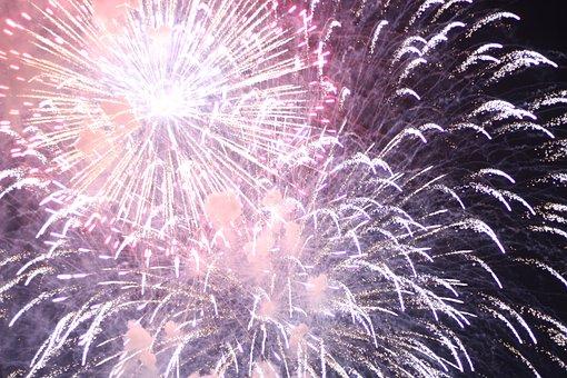 New Year, Firework, Year, Fireworks, Party, Celebration