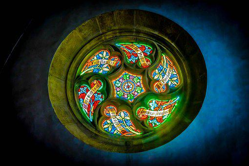 Church Window, Church, Faith, Bratislava, Dom