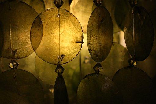 Pattern, Lamp, Light, Decoration, Background, Design