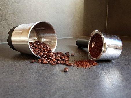 Coffee, Coffee Bean, Espresso, Brown, Mill