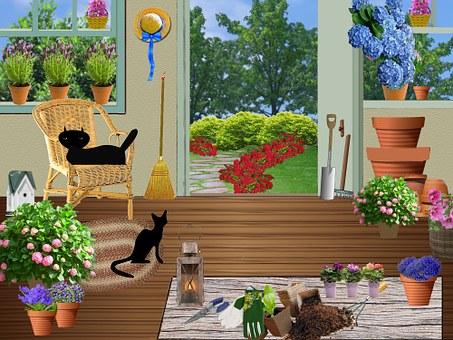 Garden Shed, Gardening