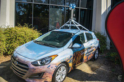 Google Maps Street View Car, Google Maps Car