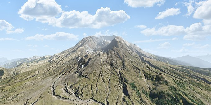 Volcano, Geology, Lava, Landscape, Mountain, Nature
