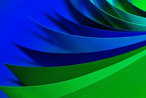 School, Training, Paper, Colorful, Color, Loose, Green