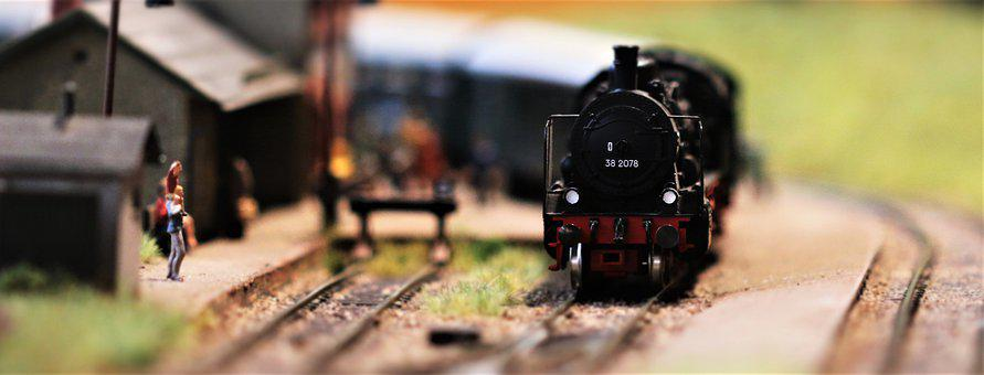 Railway, Miniature, Toys, Miniature Figures