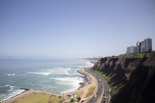 Costa Verde, Lime, Modern, Peru, Modern City, Height