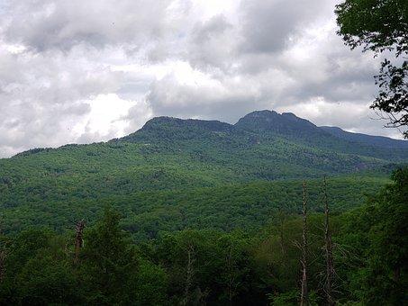 Blue, Ridge, Mountains, North, Carolina, Outdoors