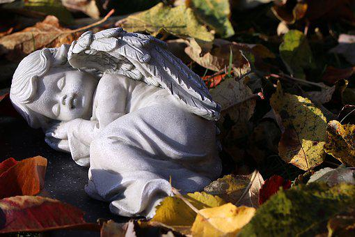 Angel, Mourning, Death, Cemetery, Wing, Figure