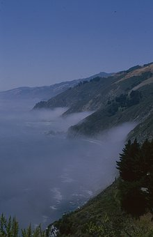 Big Sur, California, Ocean, Coast, Landscape, Nature