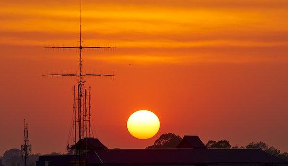 Telecommunication, Pole, Communication