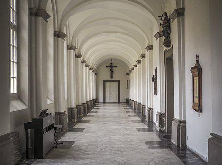 Cloister, Monastery, Architecture, Church, Religion