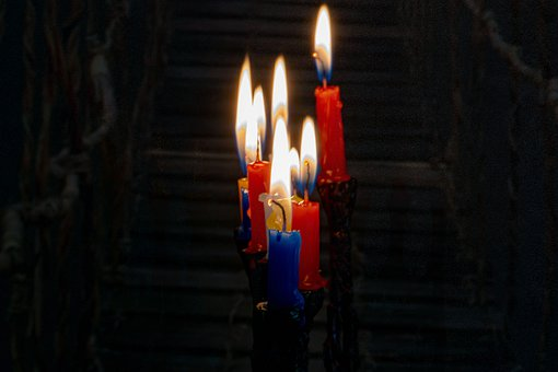 Candle, Flame, Lights, Religion, Chanukah, Jewish