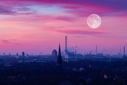 Duisburg, Sky, Ruhr Area, Industrial Heritage, Landmark