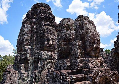 Cambodia, Angkor Wat, Siem Reap, Angkor, Temple, Ruin