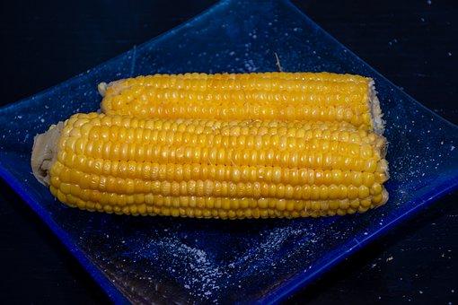 Corn, Tasty, Salt, Sweet, Salted, Yellow, Eat, Food