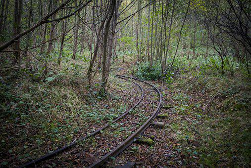 Abandoned, Railway, Scotland, Clyde Valley