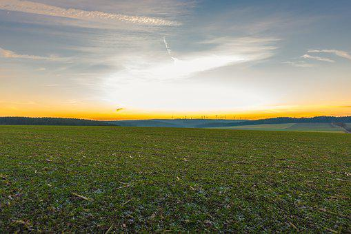 Agriculture, Field, Landscape, Nature, Sky, Rural