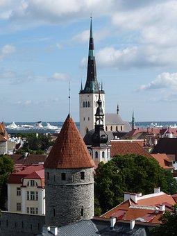 Tallinn, Historic Center, Estonia, Baltic States