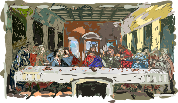 Last Supper, The Lord's Supper, The Sacrament, Jesus
